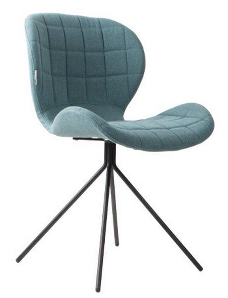Zuiver chaise omg bleue for Chaise zuiver omg