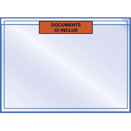 Pochettes plastiques porte-documents