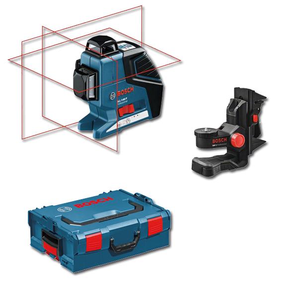 niveau laser bosch professionnel achat vente de niveau. Black Bedroom Furniture Sets. Home Design Ideas
