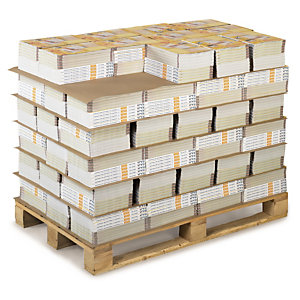 PLAQUE EN CARTON COMPACT QUALITÉ 350G/M² 120X80 CM