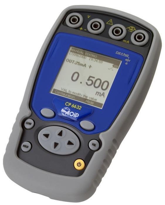 Calibrateur portable pour signaux de process cp6632