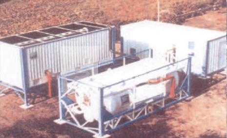 Station de traitement d'eau potable compacte claripak - pramar