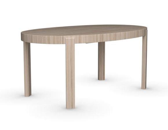 calligaris table repas extensible ovale atelier 170x100 en bois naturel comparer les prix de. Black Bedroom Furniture Sets. Home Design Ideas