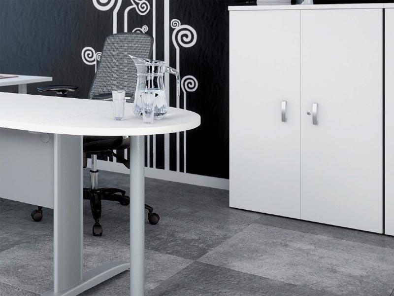 compl ment demi rond pour bureau comparer les prix de compl ment demi rond pour bureau sur. Black Bedroom Furniture Sets. Home Design Ideas