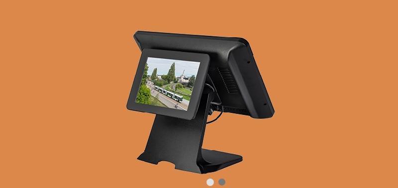 Ecran vidéo 8'' usb intégré/sur pied sgdp80