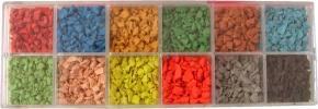 Granulat de caoutchouc epdm de couleur for Bache epdm de couleur
