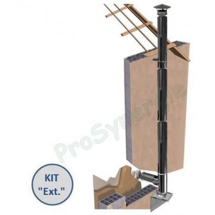 Kit ext rieur modulable tubage isol l 3 m tres for Tubage exterieur