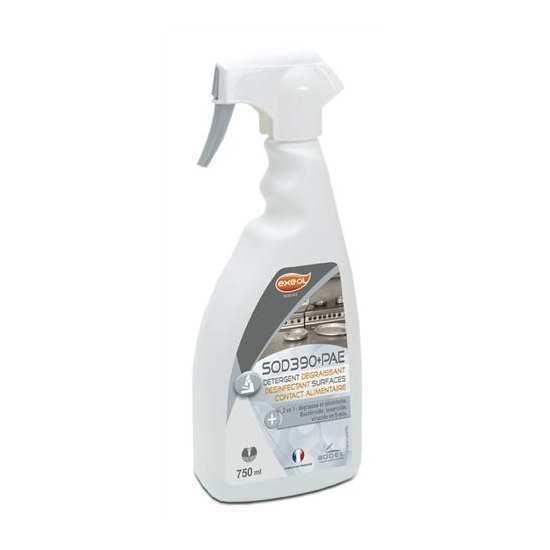 nettoyant desinfectant degraissant spray sod390 exeol. Black Bedroom Furniture Sets. Home Design Ideas