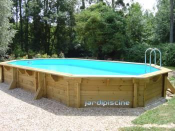 Piscine bois en kit 5 par 3 interieur for Kit piscine en bois