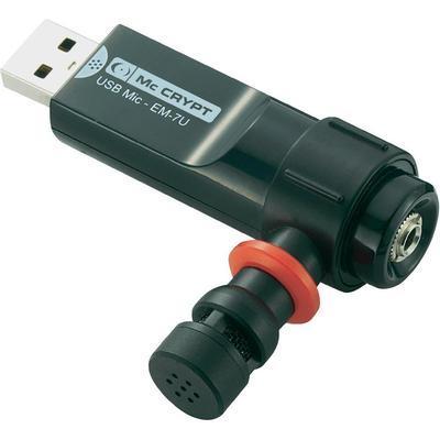 ADAPTATEUR MICROPHONE USB MCCRYPT EM-7U