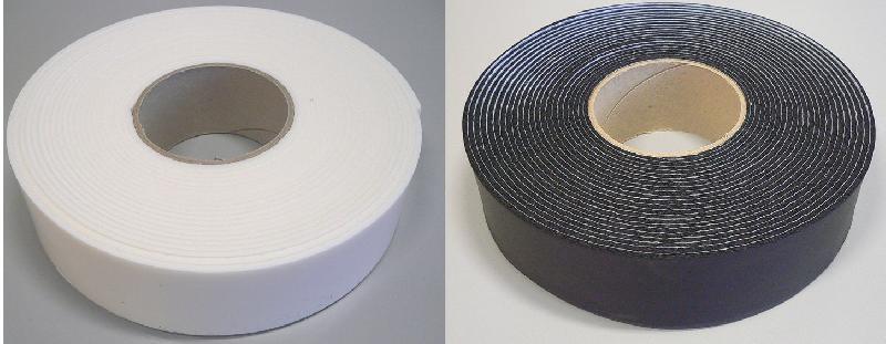 bande adh sive isolante couleur blanche longueur 10 m tres comparer les prix de bande. Black Bedroom Furniture Sets. Home Design Ideas