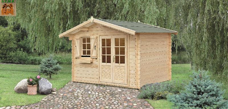 cabanes en bois abri en kit cedre m. Black Bedroom Furniture Sets. Home Design Ideas