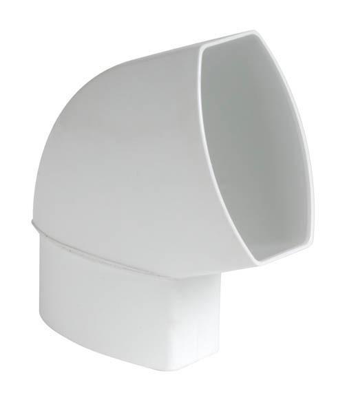 COUDE ORIENTABLE 90X56 MF 67°30 BLANC CNO6GTB - NICOLL