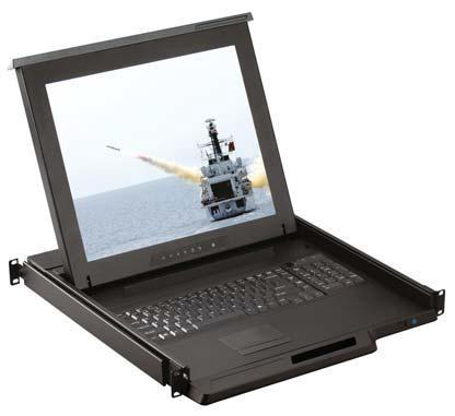 H117/H119 - TIROIR CONSOLE LCD 17 OU 19  VGA HAUTE LUMINOSITÉ RACKABLE