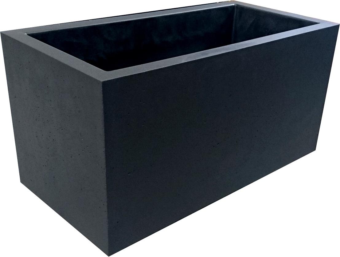 Lebeau moulages beton produits de la categorie bacs a for Grande jardiniere beton