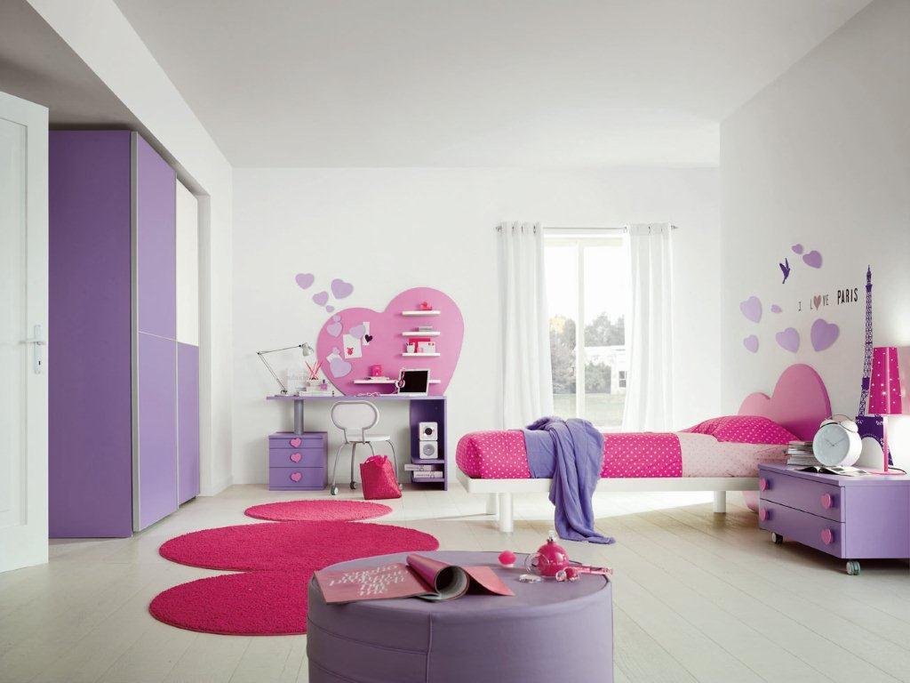 Chambre a coucher blanche et mauve: idees fantastiques chambre de ...