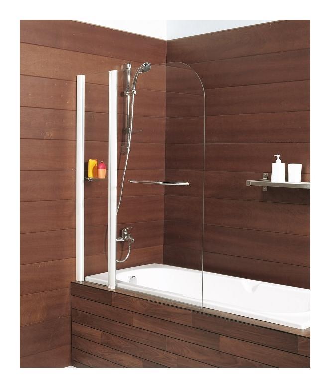 pare baignoire pivotant 110x140cm caiman xxl kinedo comparer les prix de pare baignoire. Black Bedroom Furniture Sets. Home Design Ideas