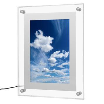 Cadre acrylique avec led | a4
