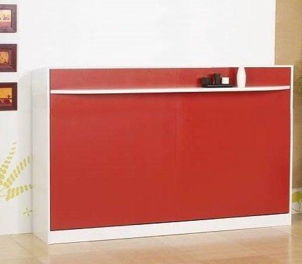lit escamotable 120 cm transversale studio 2000 griffon. Black Bedroom Furniture Sets. Home Design Ideas