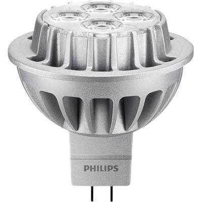 ampoule led gu5 3 philips lighting 8718696492307 r flecteur 8 w 50 w blanc chaud x l 51 mm. Black Bedroom Furniture Sets. Home Design Ideas