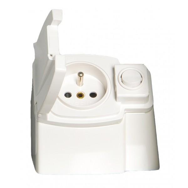 Bloc prise cedam pour armoires de toilette comparer les prix de bloc prise cedam pour armoires - Prise encastrable pour meuble salle de bain ...
