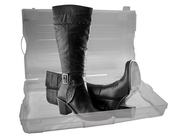 bo te chaussures en plastique transparent omsh3 comparer les prix de bo te chaussures en. Black Bedroom Furniture Sets. Home Design Ideas