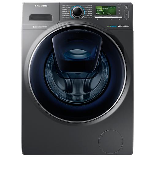 lave linge addwash de 12 kg ww8500 avec technologie ecobubble. Black Bedroom Furniture Sets. Home Design Ideas