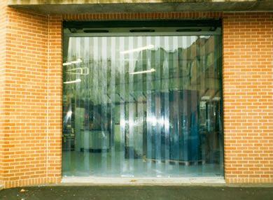 Porte à lanières | souples, pvc, chambre froide |
