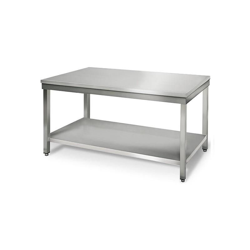 Materiel resto ness produits de la categorie table en inox for Materiel inox professionnel