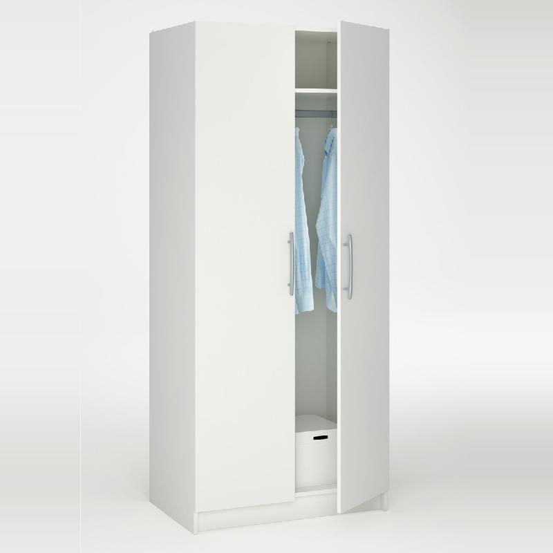 armoire avec porte battante comparez les prix pour. Black Bedroom Furniture Sets. Home Design Ideas