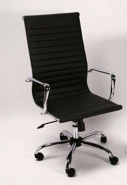chaise haute de bureau design boss noire table de lit. Black Bedroom Furniture Sets. Home Design Ideas
