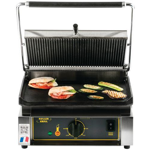 GRILL PANINI PLAQUES FONTES 3KW 230V_245 515