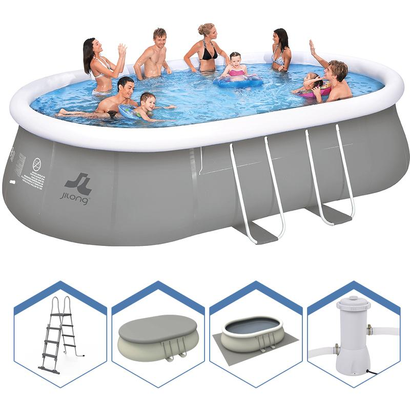 Piscines jilong achat vente de piscines jilong for Piscine jilong ovale