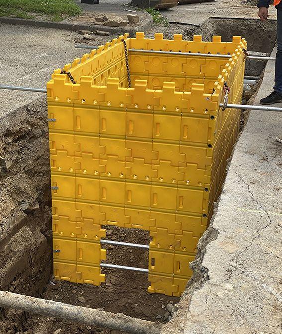 Kit de blindage de fouilles  kit 6 2,5mx2,5mx0,65m