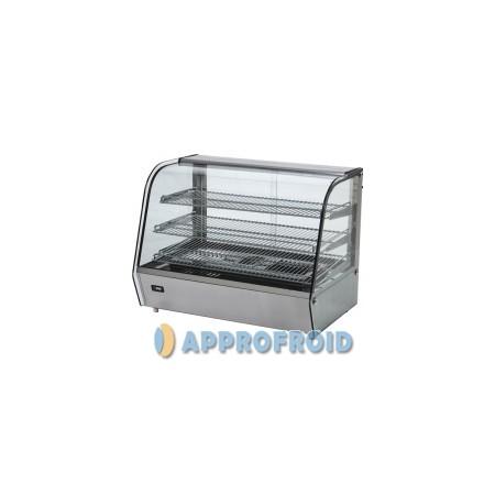 Mini-vitrine de comptoir 120 l chaude
