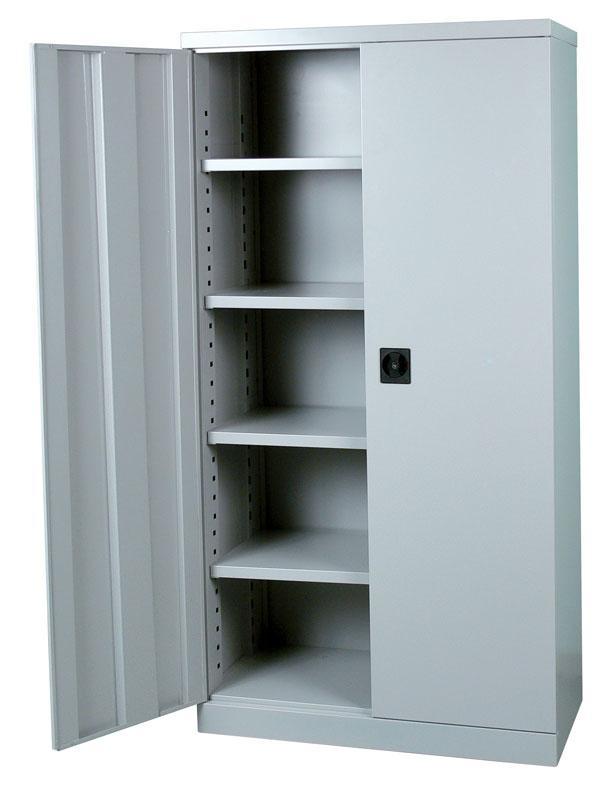 armoire acier a portes battantes. Black Bedroom Furniture Sets. Home Design Ideas
