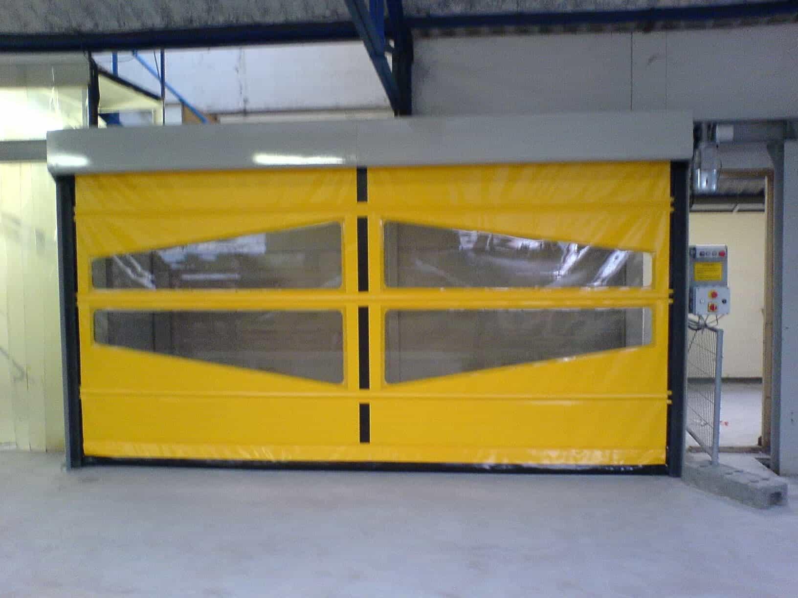 Portes rapides tous les fournisseurs porte rapide - Prix porte sectionnelle industrielle ...