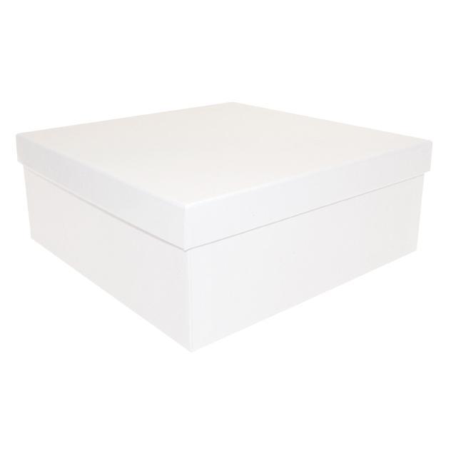 Boîte en carton brillant