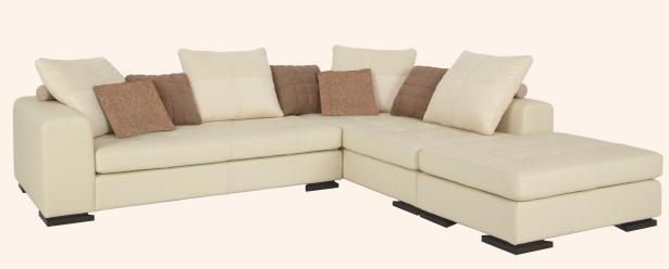 canape d 39 angle a droite melbourne cuir 1 3 1 5. Black Bedroom Furniture Sets. Home Design Ideas