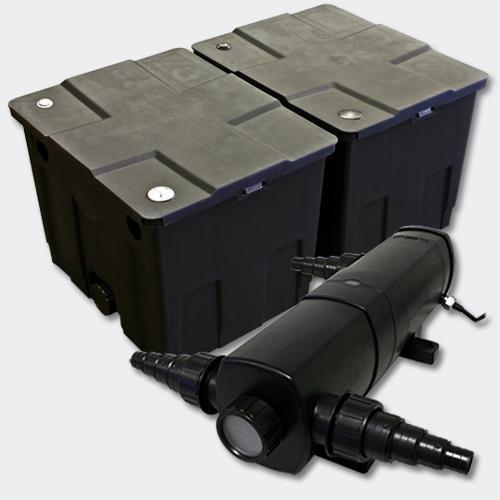 Kit de filtration de bassin bio filtre 60000l et stérilisateur uvc 36 watts 4216504