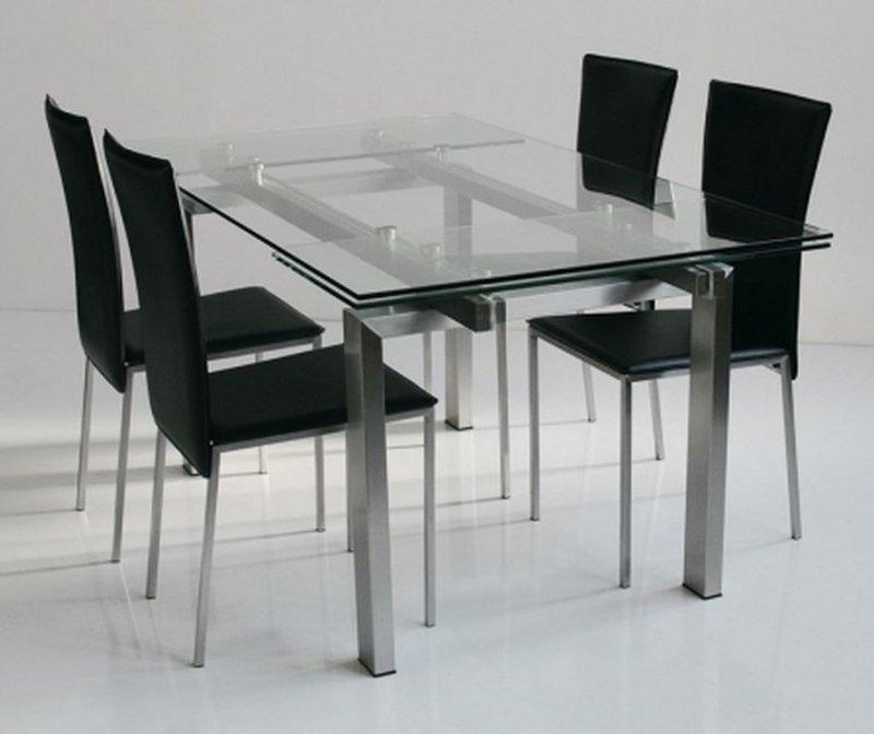 Tables manger inside 75 achat vente de tables for Table extensible titanium