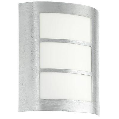Eglo Applique Extérieure City 1x15w 88487 Murale Galvanise Lighting 67yYbfg