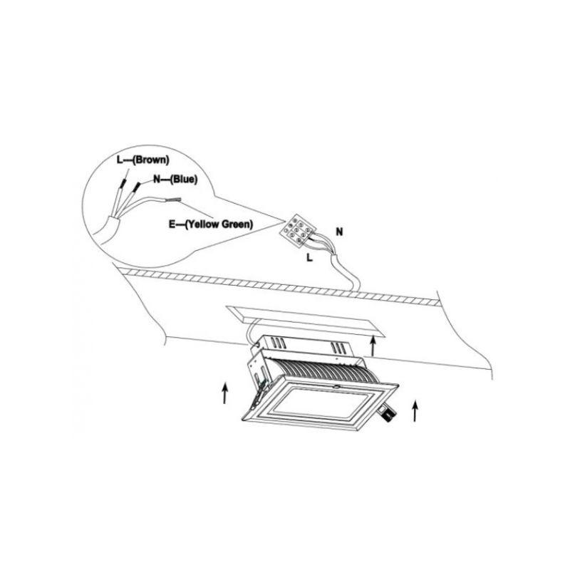 plafonnier rectangulaire tous les fournisseurs de plafonnier rectangulaire sont sur. Black Bedroom Furniture Sets. Home Design Ideas