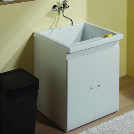 Good meuble sous evier cuisine 10 bac a laver ceramique for Meuble buanderie avec bac a laver