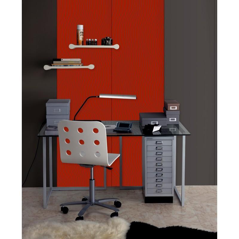 plaque de pl tre d corative ikebana motif fibre ardoise paprika fibre ardoise paprika. Black Bedroom Furniture Sets. Home Design Ideas
