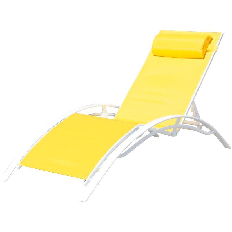 chaise longue pullman achat vente de chaise longue. Black Bedroom Furniture Sets. Home Design Ideas