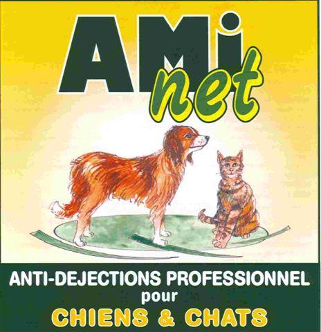 REPULSIF POUR CHIENS ET CHATS AMI-NET