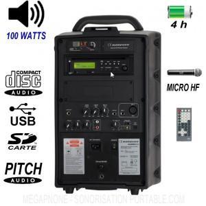 Sono portable runner 102 - 100 watts