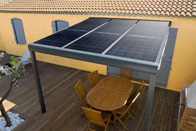 installation thermique fournisseur panneau photovoltaique pergola. Black Bedroom Furniture Sets. Home Design Ideas