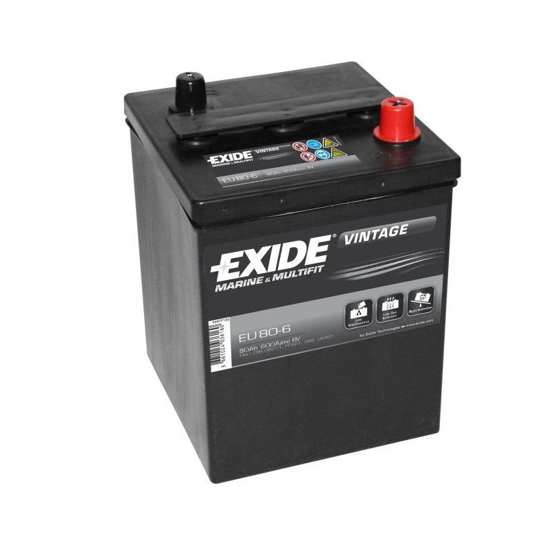 Exide equipment gel es900 g80 80ah 12v gelbatterie